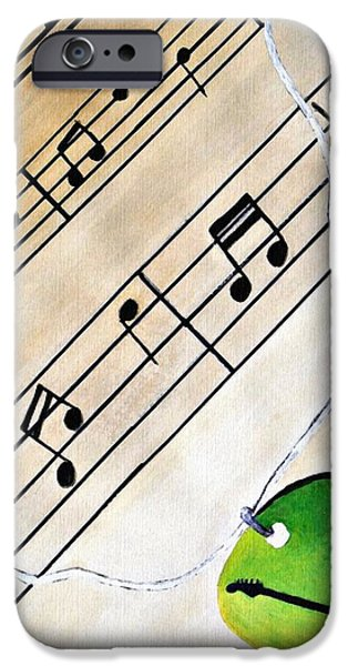 Hardware Mixed Media iPhone Cases - Pick Your Music  iPhone Case by Corey Holland