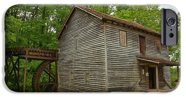 Grist Mill iPhone Cases - Pickens County Grist Mill iPhone Case by Adam Jewell
