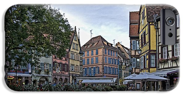 Frame House Photographs iPhone Cases - pictorial Colmar iPhone Case by Joachim G Pinkawa