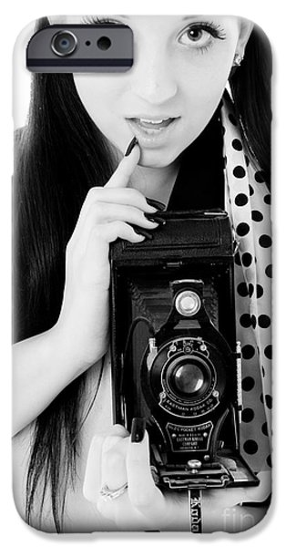 Model iPhone Cases - Picture iPhone Case by Jt PhotoDesign