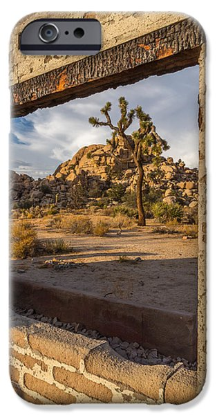 Abandoned iPhone Cases - Picture Window iPhone Case by Peter Tellone