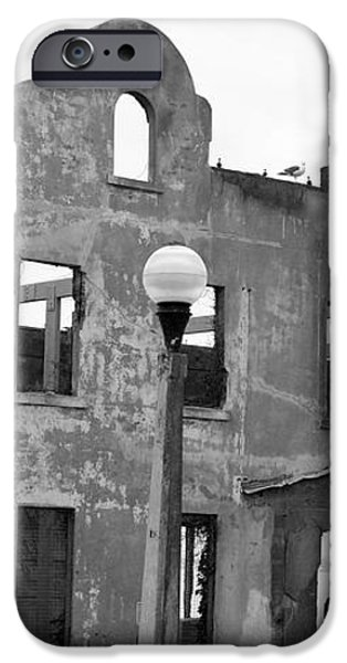 Pieces of Alcatraz Island iPhone Case by Cheryl Young