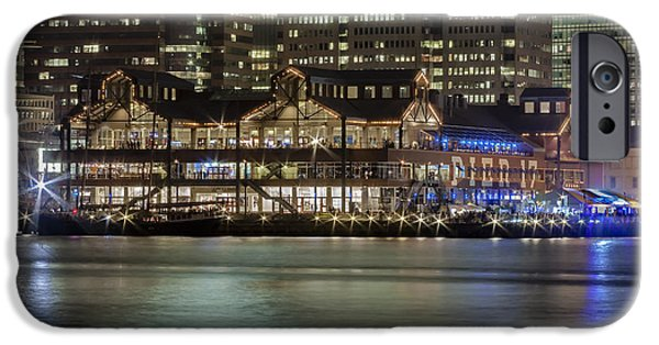 North America iPhone Cases - Pier 17 South Street Seaport NYC iPhone Case by Susan Candelario