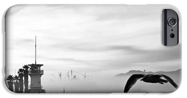 Sausalito iPhone Cases - Pier 39 iPhone Case by Allen Tunget