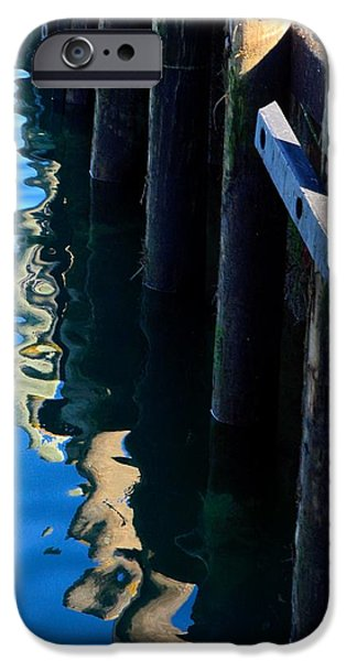 Chatham iPhone Cases - Pier Reflection iPhone Case by Stuart Litoff