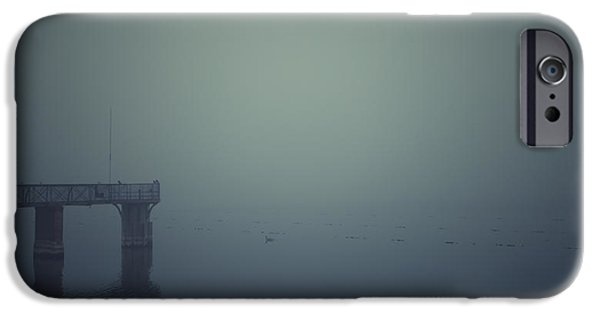 Morning iPhone Cases - Piering iPhone Case by Chris Fletcher