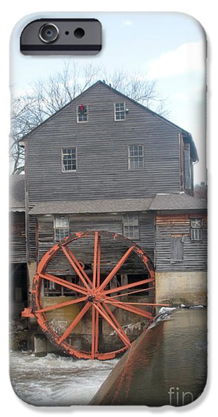 Grist Mill iPhone Cases - Pigeon Forge TN iPhone Case by Dwight Cook