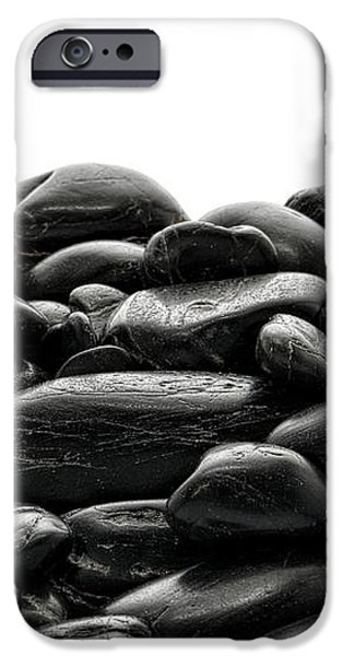 Pile of Stones iPhone Case by Olivier Le Queinec