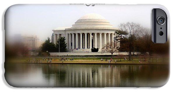 D.c. iPhone Cases - Pillars of Strength iPhone Case by Patti Whitten