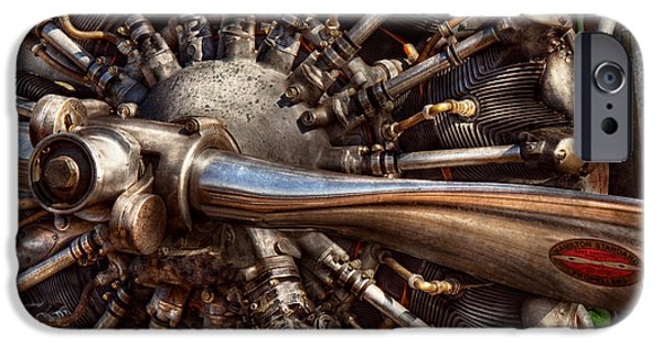 Steam Punk iPhone Cases - Pilot - Plane - Engines at the ready  iPhone Case by Mike Savad