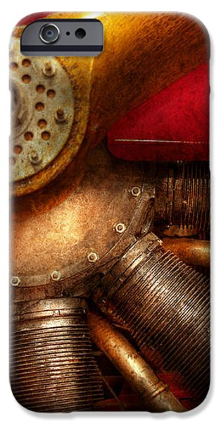 Pilot - Prop - The barnstormer iPhone Case by Mike Savad