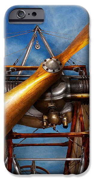 Pilot - Prop - They don't build them like this anymore iPhone Case by Mike Savad