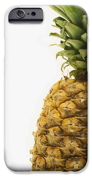 Pineapple iPhone Case by Darren Greenwood
