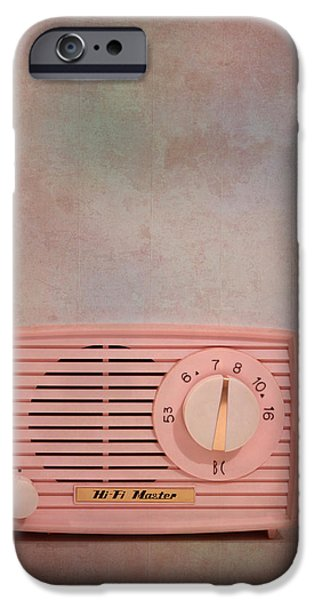 Electronic iPhone Cases - Pink AM Radio iPhone Case by David and Carol Kelly