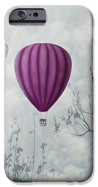 Pink Balloons iPhone Case by Jelena Jovanovic