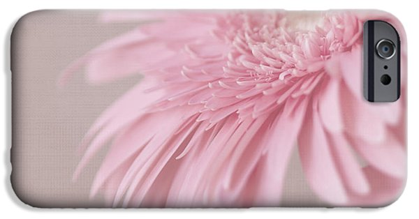 Innocence iPhone Cases - Pink Delight iPhone Case by Kim Hojnacki
