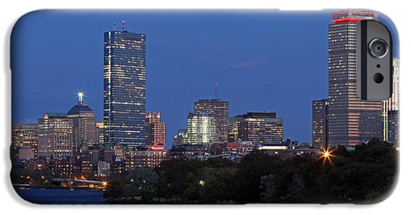 Charles River iPhone Cases - Pink Dominance iPhone Case by Juergen Roth