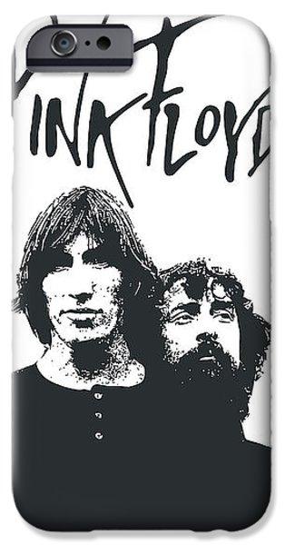 Pink Floyd No.05 iPhone Case by Caio Caldas