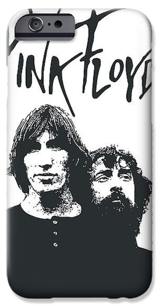 Pink Floyd No.05 iPhone Case by Caio Caldas
