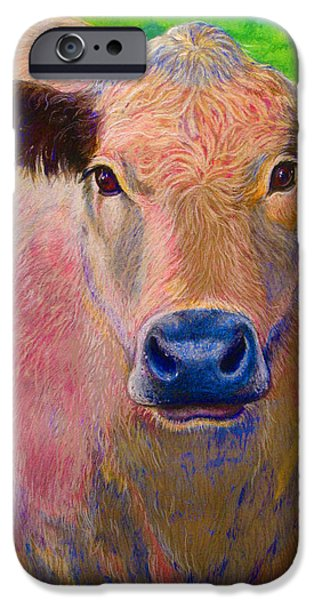 Outdoors Pastels iPhone Cases - Pink Floyd iPhone Case by Tanja Ware