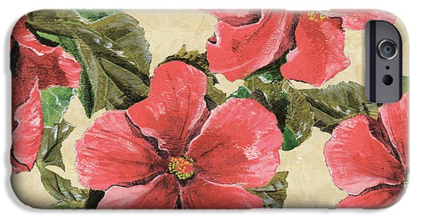 Hibiscus iPhone Cases - Pink Hibiscus iPhone Case by Debbie DeWitt