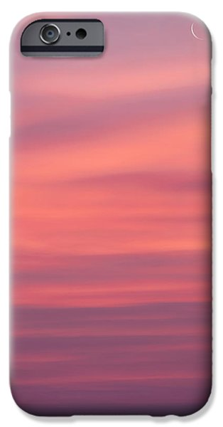 Pink Moon iPhone Case by Bill  Wakeley
