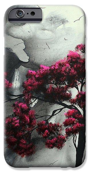 Pink Passion Original Painting MADART iPhone Case by Megan Duncanson