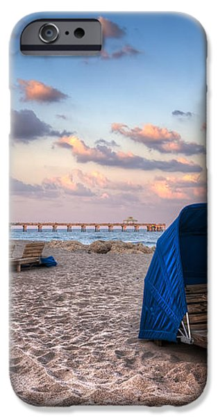 Pink Sands iPhone Case by Debra and Dave Vanderlaan