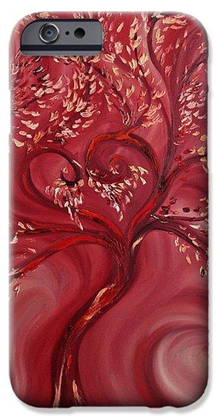 Pink Splendor iPhone Case by Felix Concepcion