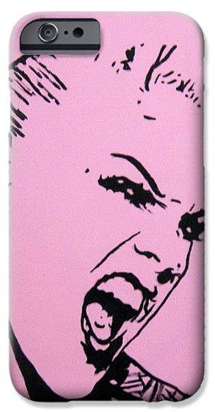 Best Buy Mixed Media iPhone Cases - Pink iPhone Case by Venus