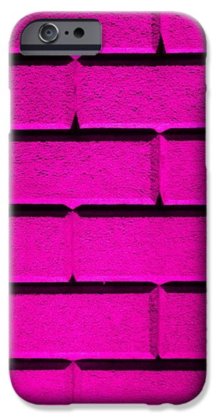Pink Wall iPhone Case by Semmick Photo