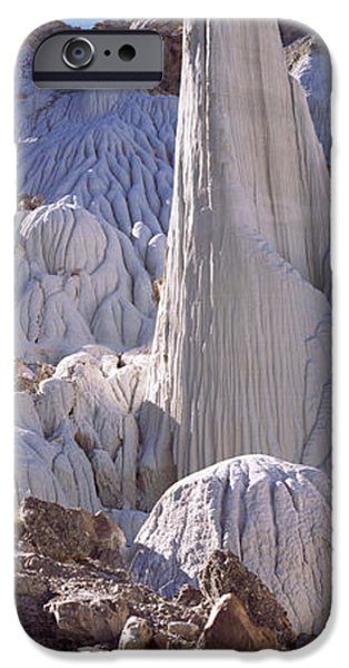 Texture iPhone Cases - Pinnacle Formations On An Arid iPhone Case by Panoramic Images