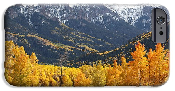 West Fork iPhone Cases - Pinnacle Ridge iPhone Case by Eric Glaser