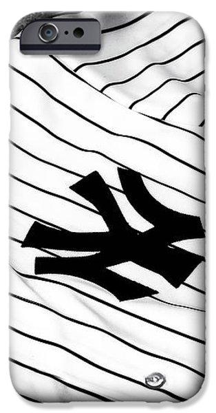 Pinstripe Pride iPhone Case by John Rizzuto