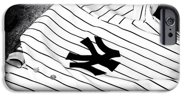 Pinstripes iPhone Cases - Pinstripe Pride iPhone Case by John Rizzuto