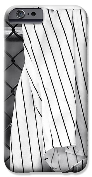 Pinstripes iPhone Cases - Pinstripes iPhone Case by John Rizzuto