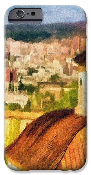 Pious Witness to the Passage of Time iPhone Case by Jeff Kolker