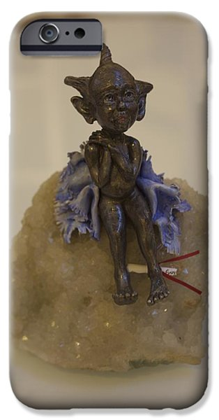 Mad Hatter Ceramics iPhone Cases - Pip iPhone Case by Dorienne Carmel