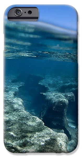 Pipe reef. iPhone Case by Sean Davey