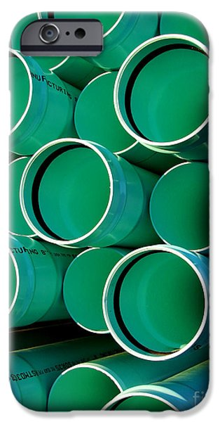 Drain iPhone Cases - Pipes  iPhone Case by Olivier Le Queinec