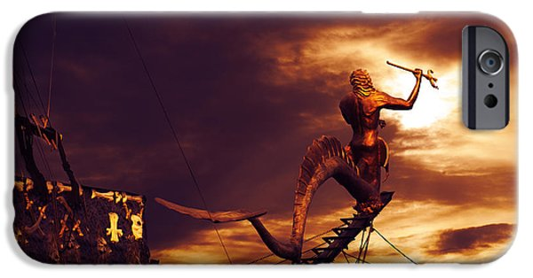 Pirate Ship iPhone Cases - Pirate Ship iPhone Case by Jelena Jovanovic