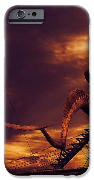 Pirate Ship iPhone Case by Jelena Jovanovic