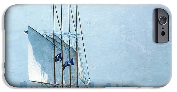 Pirate Ships Photographs iPhone Cases - Pirate Ship iPhone Case by Sophie Vigneault
