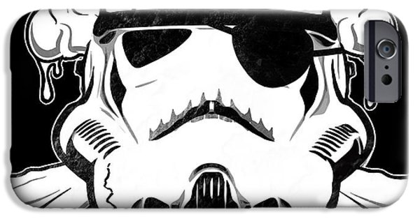 War iPhone Cases - Pirate Trooper iPhone Case by Nicklas Gustafsson