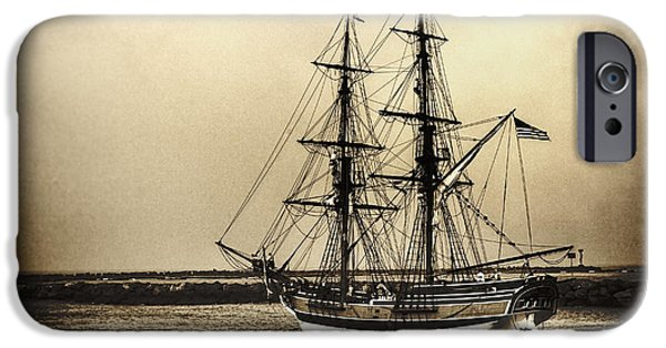 Pirate Ship iPhone Cases - Pirates Life iPhone Case by David Millenheft