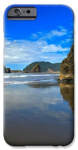 Pistol River Sea Stacks iPhone Case by Adam Jewell