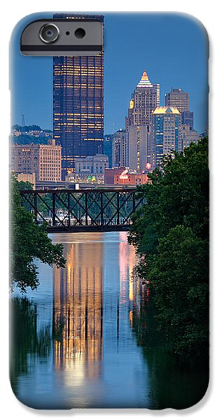 4th July iPhone Cases - Pittsburgh 67 iPhone Case by Emmanuel Panagiotakis