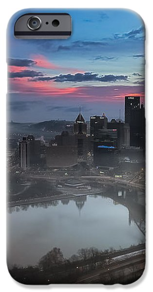 Pittsburgh January Thaw iPhone Case by Jennifer Grover