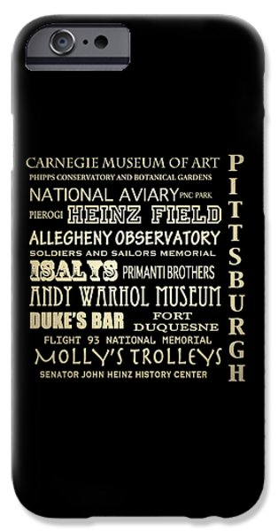 Carnegie Museum Of Art iPhone Cases - Pittsburgh Pennsylvania iPhone Case by Patricia Lintner