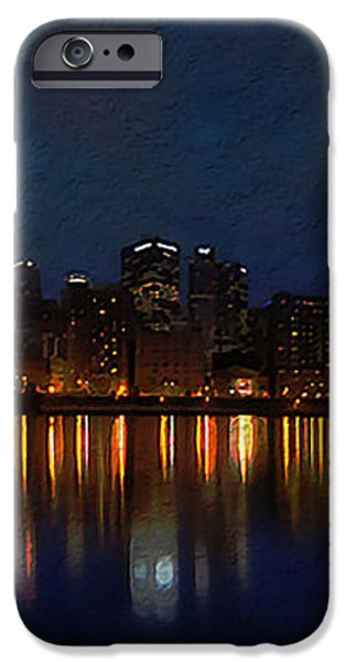 Pittsburgh Skyline 2 iPhone Case by  Fli Art